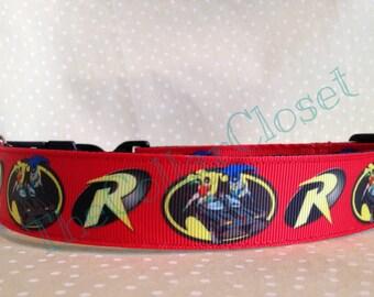 Batman And Robin Unofficial Dog Collar