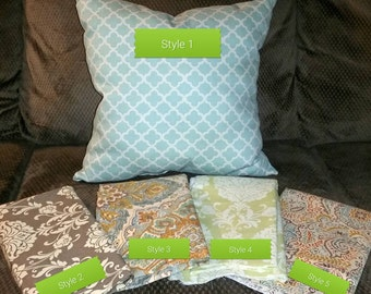 Decorative Pillow Covers with Zippers - throw pillows - pillow covers - couch decoration - gift - pillow gift - birthday gift