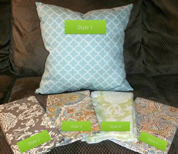Decorative Pillow Covers With Zippers : Items similar to Decorative Pillow Covers with Zippers - throw pillows - pillow covers - couch ...