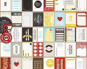 Project Mouse: Food (Journal Cards) - Perfect for Project Life & Digital Scrapbooking Disney, Mickey Mouse