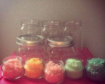 Mini Organic Sugar Scrubs