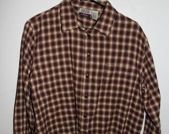 BlassSport Button-up Flannel Large