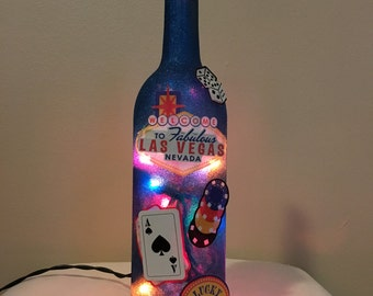 Las Vegas Bottle Light