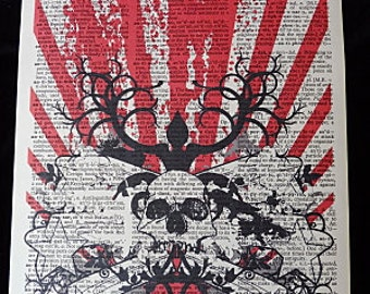 Japanese Contemporary Wall Art Print