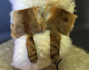 Australian fox cushion with tail