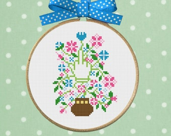 Funny Rude Cross Stitch Bouquet Valentines Ideas