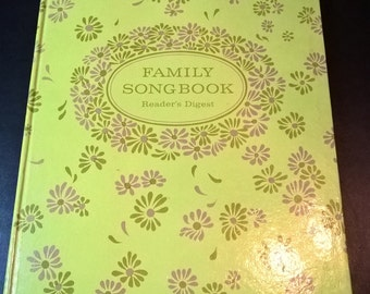 "Vintage Reader's Digest ""Family Songbook"" **FREE SHIPPING**"