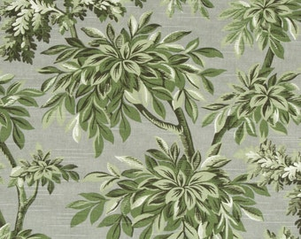 "Sylvan Toile Growning Plants Robert Allen Fabric By the yard 100% cotton 55"" Multipurpose"