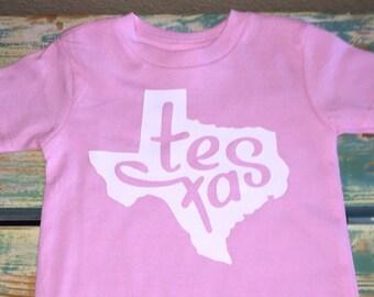 Texas Toddler Shirt, Toddler Tee, Baby Tee