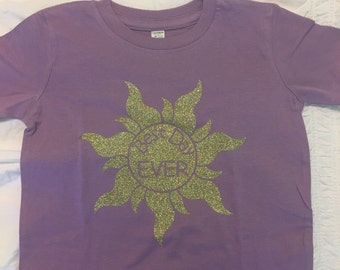 Best Day Ever!! Tangled inspired shirt
