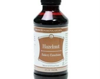 Hazelnut Bakery Emulsion 4oz