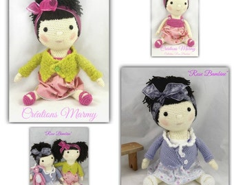 Collection Rose Bambine, doll, baby doll, baby