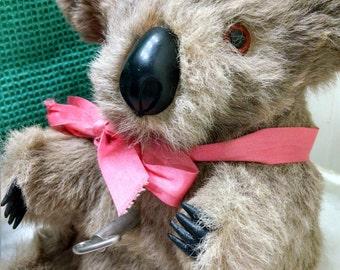 Real Fur Windup Musical Koala Bear