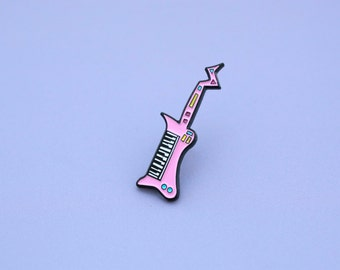 SALE - Enamel Pin / Lapel Pin / Keytar Pin - Shred it!