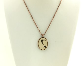 Mermaid Pendant Necklace