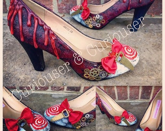 Saw Inspired Heels