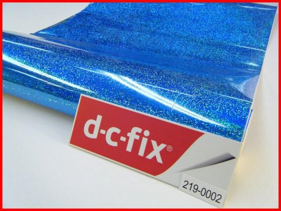dc fix blue shiny glitter effect gloss 1m x 45cm design sticky. Black Bedroom Furniture Sets. Home Design Ideas