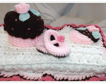 Newborn Cupcake Set