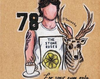 7. Louis Tomlinson Postcard