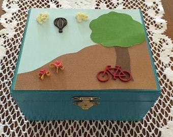 Child's treasure box