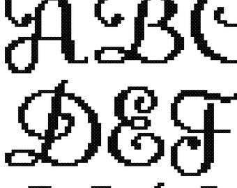 Ursula Cross Stitch Font