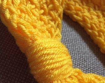Golden Yellow Womens Headband