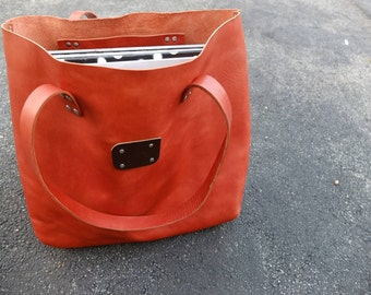 Horween Leather Tote Bag Large