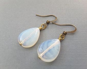 Opalite Teardrop Earrings