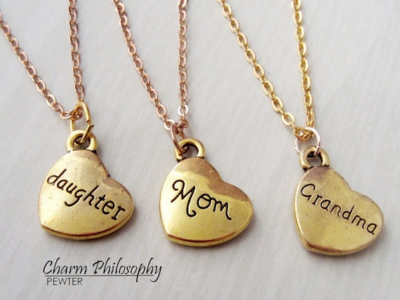 daughter mom grandma necklace set mother 39 s day gift 3