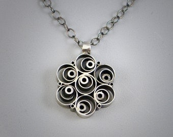 Sterling Silver Pendant Awesome