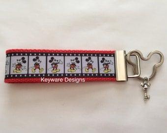 Mickey Mouse Key Fob Keychain