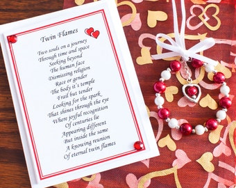 Twin Flames Gift Bags/twin flames/soul mate/love/gift bag