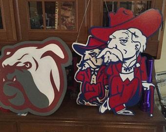 College door hangers