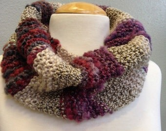 Multi-Texture Basic Collar Wrap