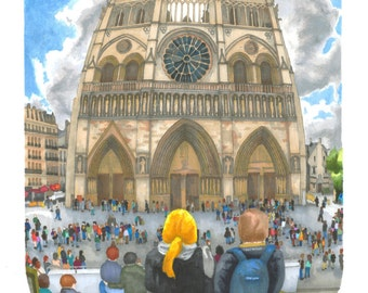 Notre-Dame: SIGNED and NUMBERED PRINT