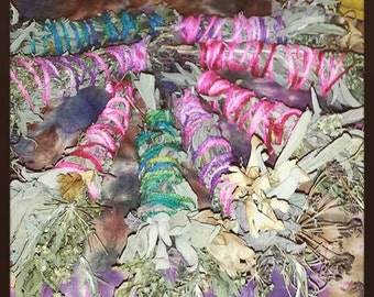 Hand Grown & Rolled Smudge Sticks
