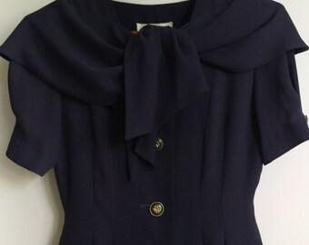 Gorgeous Plum Dress, Size Small-Medium