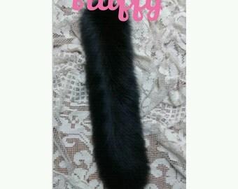 BYO Fluffy Straight Kitty Tail