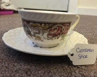 Whimsical Teacup- Cinnamon Stick