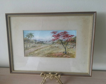 Oil Painting by L. Tippett