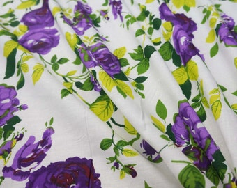 "42"" Wide Floral Printed Fabric Dressmaking Material Fabric Craft Supplies Designer Sewing Fabric Indian Sew Cotton Fabric By 1 Yard ZBC6102"