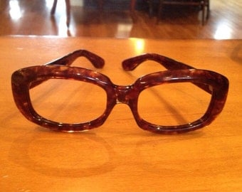 """Vintage Swank eyeglass frames   made in Italy   style name """"Fern""""   New old stock Swank frames"""