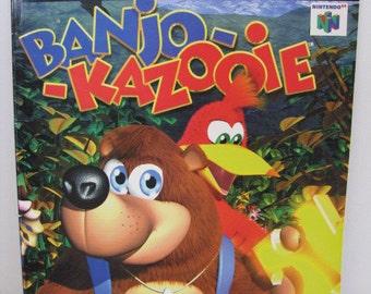 Banjo-kazooie Game Secrets  Nintendo Power Strategy Guide