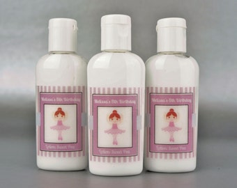 Personalized. Ballerina. 1oz lotion