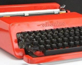 Olivetti Valentine typewriter 1969-1970
