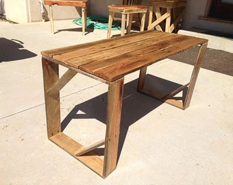 Unique Coffee / End Table, Made FromReclaimed Wood