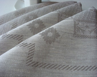 Cloth Napkins Linen napkins Jacquard napkins linen placemat dinner napkins