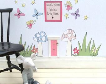 Children's Fairy Wall Art Stickers