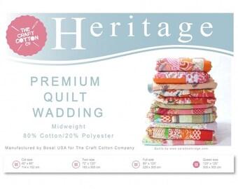 Quilt Wadding, Heritage Premium