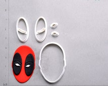 Deadpool Fondant Cutter  deadpool,deadpool costume,deadpool shirt,deadpool mask,deadpool ornament,deadpool shoes,deadpool hoodie,